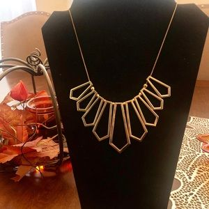 Forever 21 Geometric Necklace